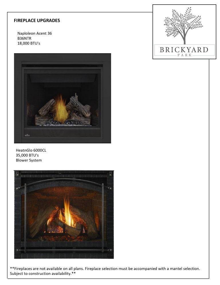 Fireplace Upgrade Options - 1