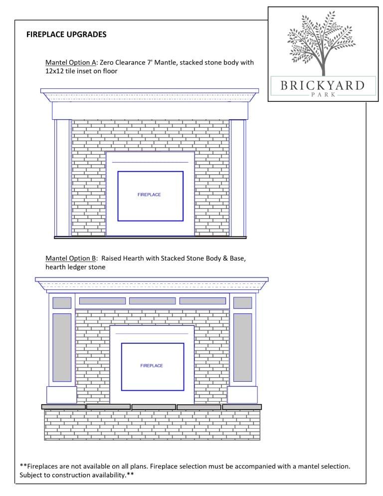 Fireplace Upgrade Options - 2
